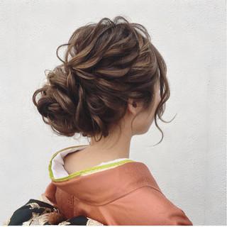 エレガント パーティ 上品 大人かわいい ヘアスタイルや髪型の写真・画像