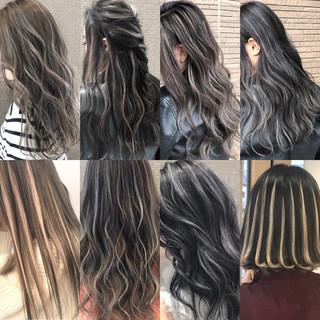 結婚式 ストリート ロング 外国人風カラー ヘアスタイルや髪型の写真・画像