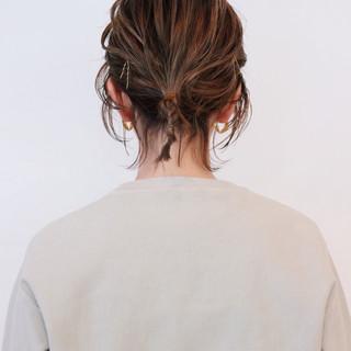 ボブ ナチュラル ウルフカット グラデーションカラー ヘアスタイルや髪型の写真・画像