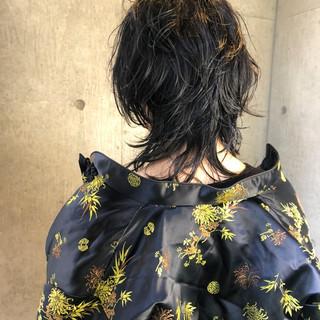 ウルフカット ショートボブ ショートヘア モード ヘアスタイルや髪型の写真・画像