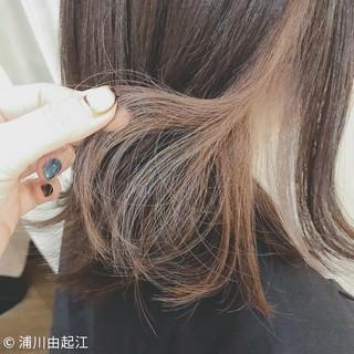 ミディアム ナチュラル 女子力 大人かわいい ヘアスタイルや髪型の写真・画像 ヘアスタイルや髪型の写真・画像