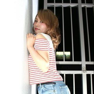 ピュア ガーリー 外国人風 モテ髪 ヘアスタイルや髪型の写真・画像