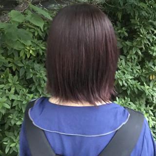 スポーツ 前髪パッツン ストリート ボブ ヘアスタイルや髪型の写真・画像