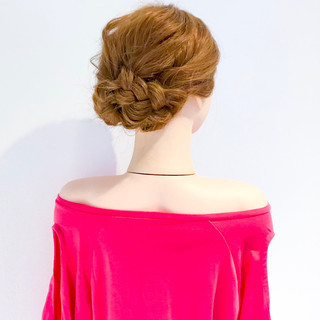 ヘアアレンジ エレガント オフィス デート ヘアスタイルや髪型の写真・画像