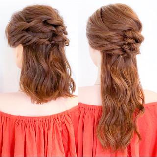 大人女子 上品 ロング ショート ヘアスタイルや髪型の写真・画像