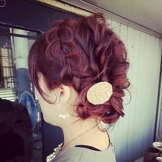 上品 春 ミルクティー エレガント ヘアスタイルや髪型の写真・画像