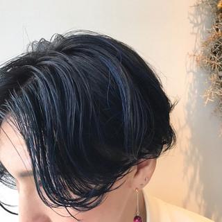 ハイライト ショート ヘアアレンジ ハンサムショート ヘアスタイルや髪型の写真・画像