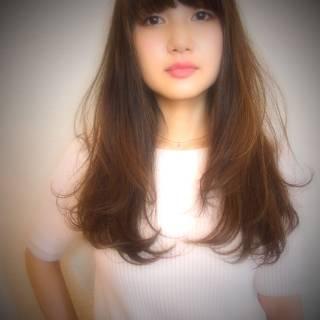 モテ髪 ナチュラル 秋 ウェーブ ヘアスタイルや髪型の写真・画像