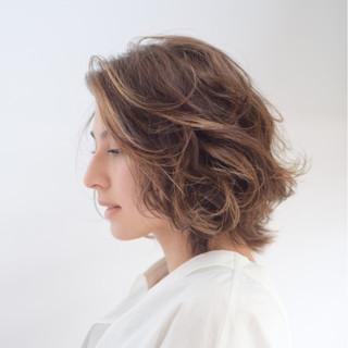 外国人風カラー 外国人風 ハイライト エレガント ヘアスタイルや髪型の写真・画像