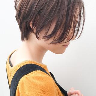 ショート デート コンサバ イルミナカラー ヘアスタイルや髪型の写真・画像 ヘアスタイルや髪型の写真・画像