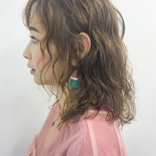 大人女子 ミディアム 女子力 ナチュラル ヘアスタイルや髪型の写真・画像