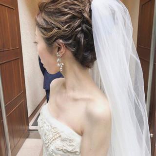 ヘアアレンジ エレガント アンニュイ ロング ヘアスタイルや髪型の写真・画像