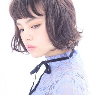 パーマ ガーリー 外国人風 無造作 ヘアスタイルや髪型の写真・画像