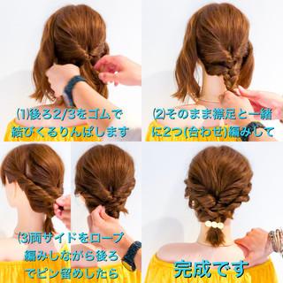 ヘアアレンジ エレガント 大人かわいい ロング ヘアスタイルや髪型の写真・画像
