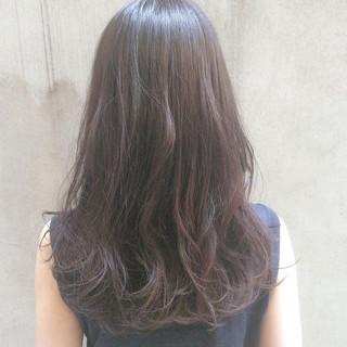 デート オフィス ナチュラル イルミナカラー ヘアスタイルや髪型の写真・画像