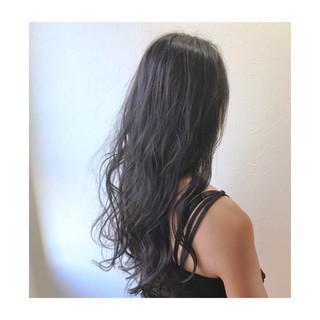 夏 ヘアアレンジ ロング 梅雨 ヘアスタイルや髪型の写真・画像 ヘアスタイルや髪型の写真・画像