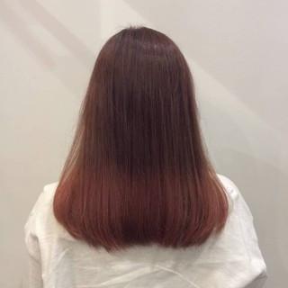 デート ピンク ナチュラル可愛い かわいい ヘアスタイルや髪型の写真・画像 ヘアスタイルや髪型の写真・画像