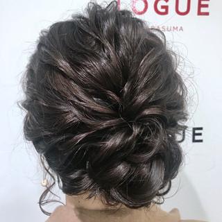 ヘアアレンジ モテ髪 ゆるふわ デート ヘアスタイルや髪型の写真・画像