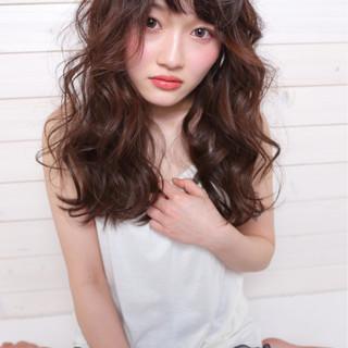 デート ガーリー 前髪あり おフェロ ヘアスタイルや髪型の写真・画像 ヘアスタイルや髪型の写真・画像