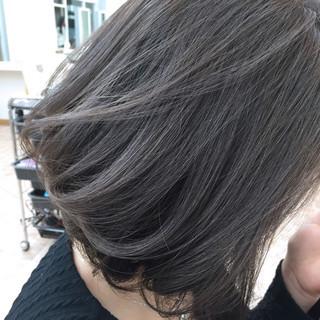 暗髪 ストリート ハイライト グラデーションカラー ヘアスタイルや髪型の写真・画像