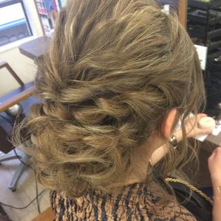 外国人風 渋谷系 セミロング ヘアアレンジ ヘアスタイルや髪型の写真・画像
