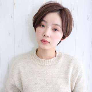 デート ナチュラル 大人女子 小顔 ヘアスタイルや髪型の写真・画像