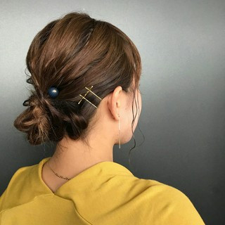 バレンタイン ゆるふわ 簡単ヘアアレンジ ガーリー ヘアスタイルや髪型の写真・画像 ヘアスタイルや髪型の写真・画像