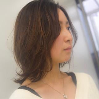 小熊滋さんのヘアスナップ