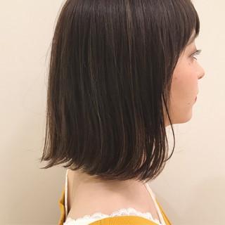 モテボブ ボブ 外ハネボブ 簡単スタイリング ヘアスタイルや髪型の写真・画像