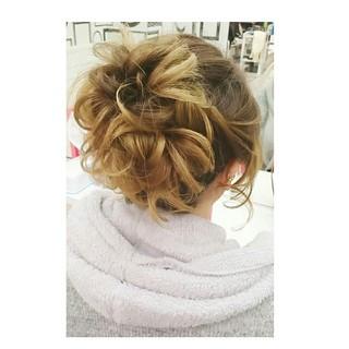 ゆるふわ 大人かわいい ヘアアレンジ 簡単ヘアアレンジ ヘアスタイルや髪型の写真・画像 ヘアスタイルや髪型の写真・画像