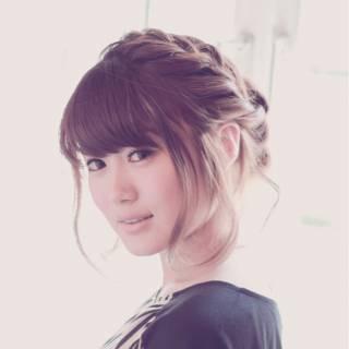 ヘアアレンジ コンサバ まとめ髪 ミディアム ヘアスタイルや髪型の写真・画像 ヘアスタイルや髪型の写真・画像