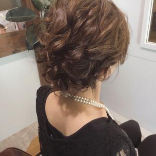 ゆるふわ フェミニン 外国人風 ミディアム ヘアスタイルや髪型の写真・画像