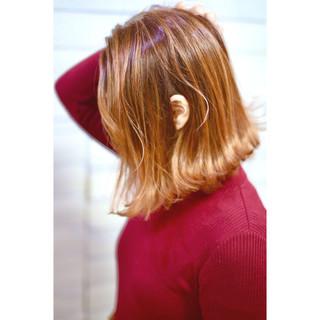 ベージュ モード オフィス ピンク ヘアスタイルや髪型の写真・画像