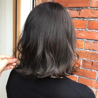 外国人風 ハイライト 秋 ナチュラル ヘアスタイルや髪型の写真・画像