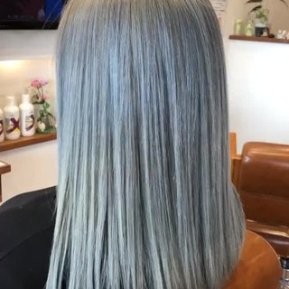 成人式 モード ヘアアレンジ バレイヤージュ ヘアスタイルや髪型の写真・画像