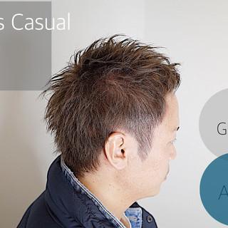 メンズショート メンズヘア メンズカジュアル ストリート ヘアスタイルや髪型の写真・画像