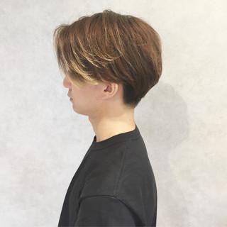 モテ髪 パーマ メンズ ショート ヘアスタイルや髪型の写真・画像
