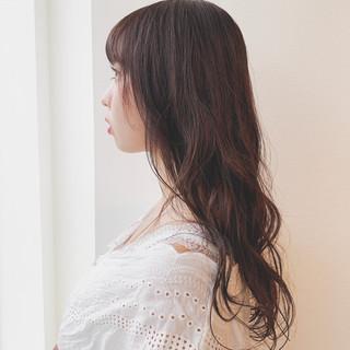 モテ髪 セミロング モテ髮シルエット パーマ ヘアスタイルや髪型の写真・画像