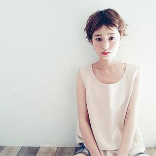 色気 ショート かわいい かっこいい ヘアスタイルや髪型の写真・画像