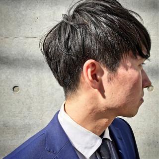 黒髪 こなれ感 メンズ ショート ヘアスタイルや髪型の写真・画像