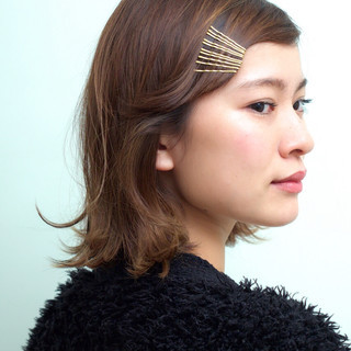 小林 奈緒さんのヘアスナップ