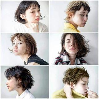抜け感 グラデーションカラー 大人かわいい ストリート ヘアスタイルや髪型の写真・画像