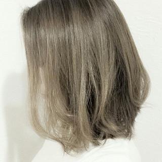 大人かわいい ハイライト ナチュラル ボブ ヘアスタイルや髪型の写真・画像 ヘアスタイルや髪型の写真・画像
