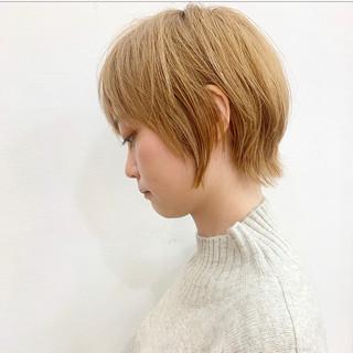 ウルフ女子 ナチュラルウルフ ナチュラル 可愛い ヘアスタイルや髪型の写真・画像