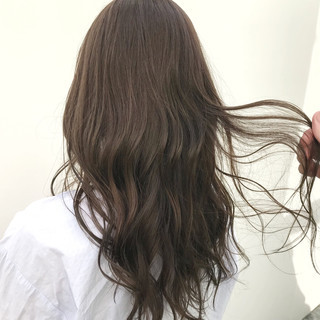 大人カジュアル デート 結婚式 透明感カラー ヘアスタイルや髪型の写真・画像