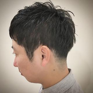 メンズヘア メンズ メンズカジュアル ショート ヘアスタイルや髪型の写真・画像