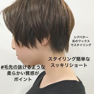 デート ナチュラル ショート ショートヘア ヘアスタイルや髪型の写真・画像 ヘアスタイルや髪型の写真・画像