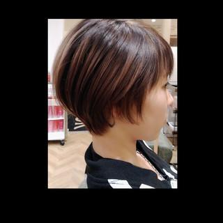 ショートヘア ショート ショートボブ ミニボブ ヘアスタイルや髪型の写真・画像