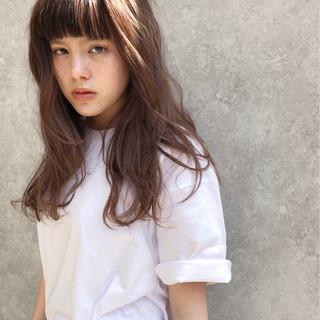 ブラウン ミディアム 外国人風 大人かわいい ヘアスタイルや髪型の写真・画像