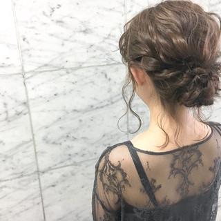 結婚式 ヘアアレンジ デート 大人かわいい ヘアスタイルや髪型の写真・画像 ヘアスタイルや髪型の写真・画像
